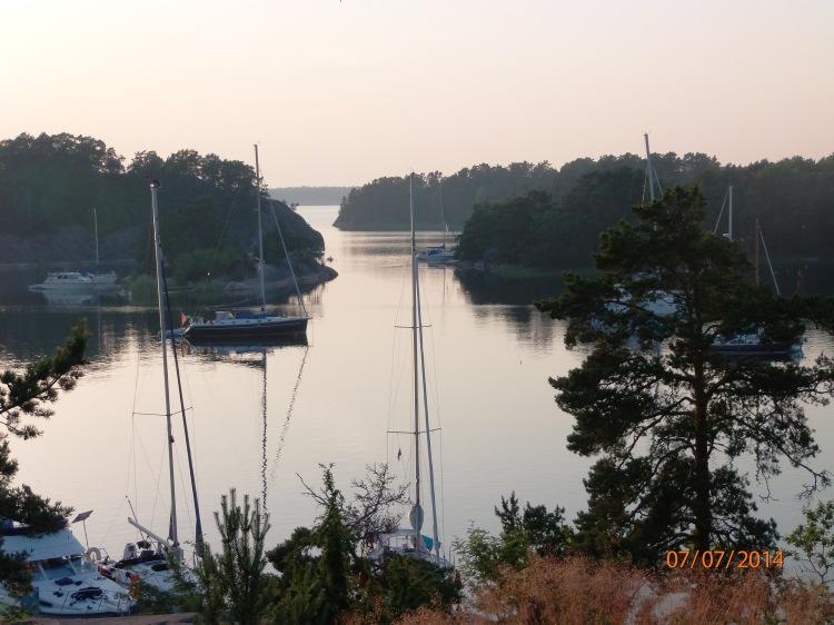 Ruotsissa luonnonsatamassa