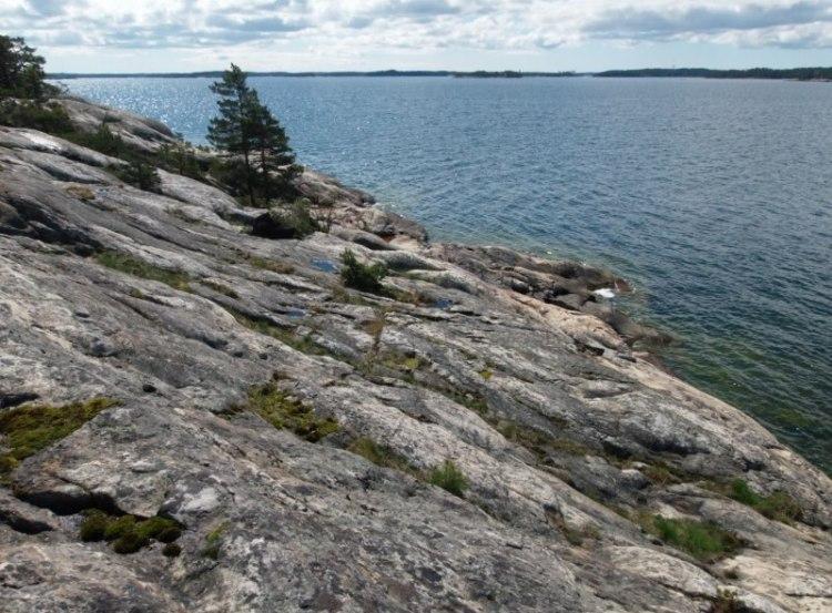 Kallioita löytyy