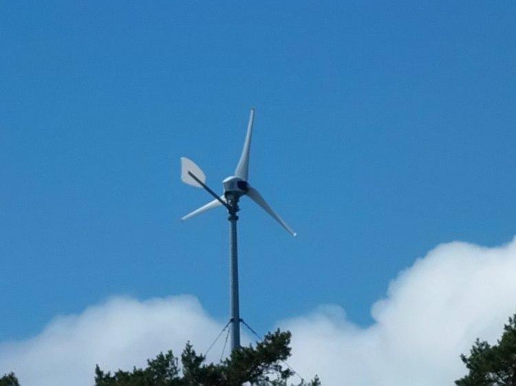 Naapurisaaren tuulimylly