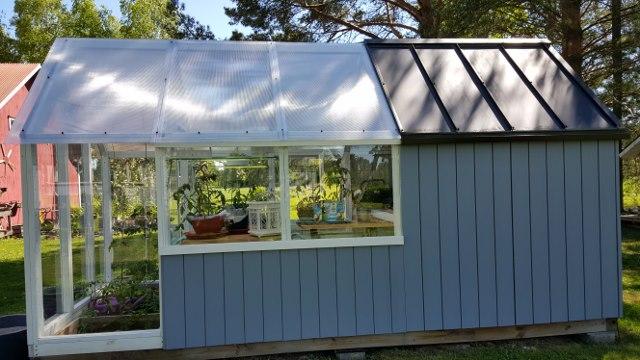 Paranneltu Kekkilän puutarhavaja/kasvihuone