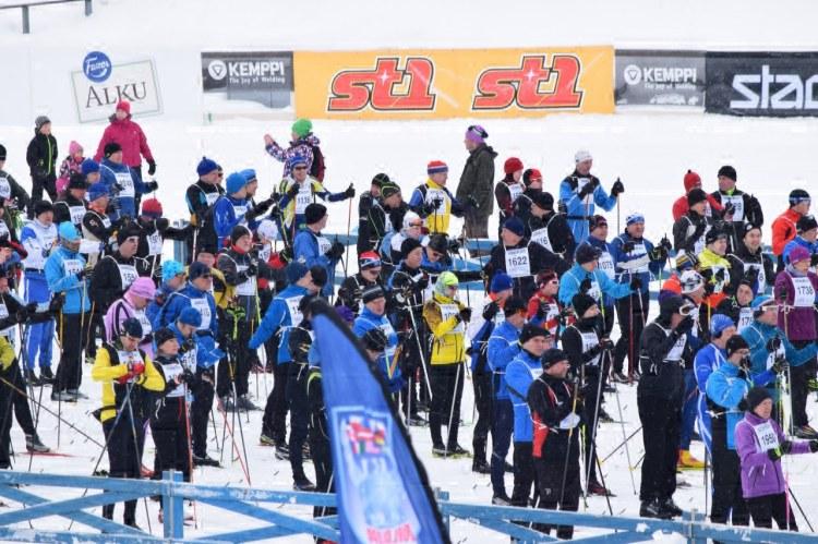 Toinen tuhannen hiihtäjän startti lähellä